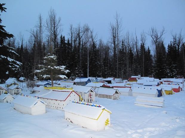 Eklutna, Alaska, cimitir ortodox
