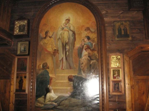 Biserica Sf Serafim de Viritza, Rusia