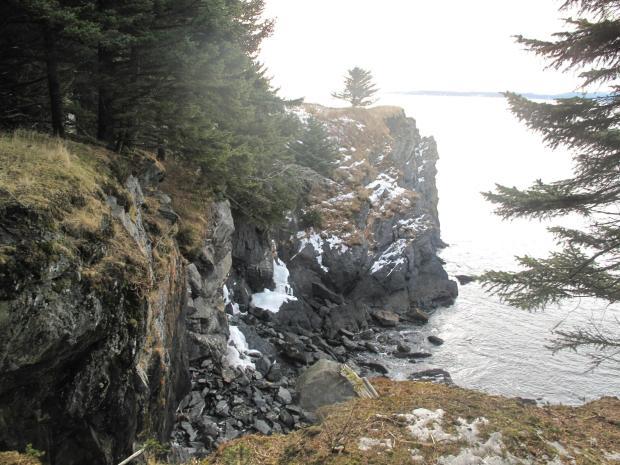 20 pe marginea rapei, chilia,  Nilus Island Alaska