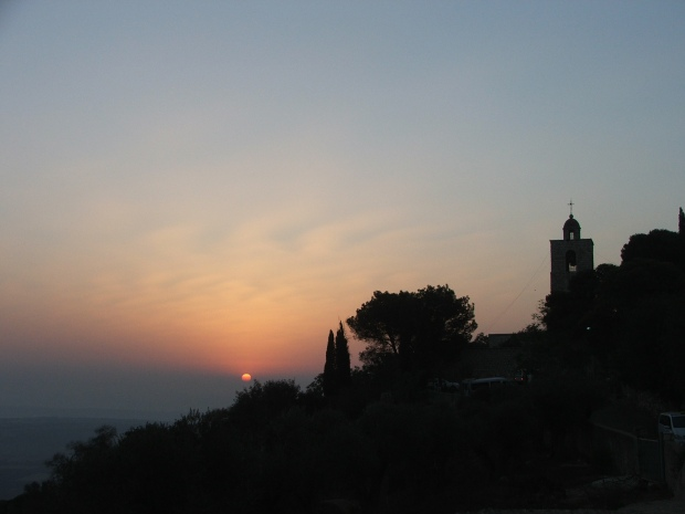 Dimineata Schimbarii la Fata, rasarit pe Muntele Tabor