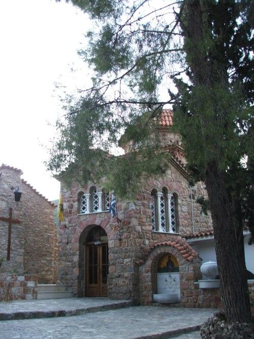Man Sf Efrem cel Nou, Nea Macri, Grecia