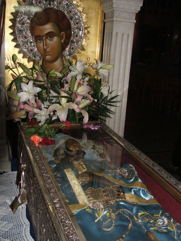Sf Ioan Rusul, Procopie, Insula Evia, Grecia sept 2008