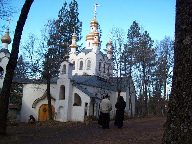 Bisericutza manastirii Platina - inchinata Sf Gherman din Alaska