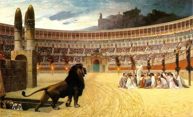 Colosseum - ultima rugaciune a mucenicilor crestini