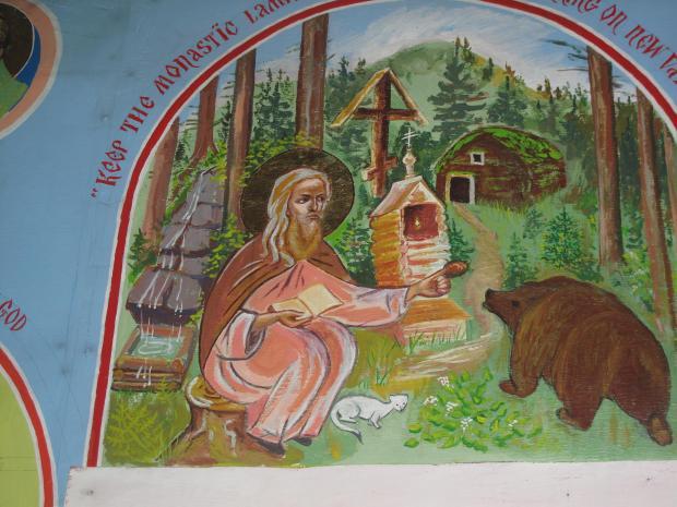 Biserica Sf Gherman din Alaska, Insula Spruce (1)