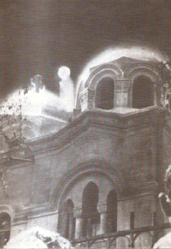 Foto 1968, aparitia Sf Fecioare Maria la Zeitun, Cairo