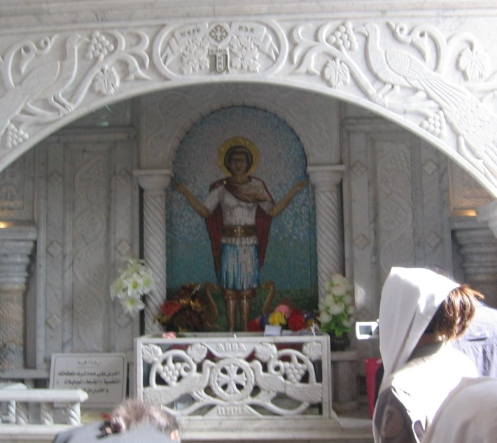 Sf MIna, sfintele moaste in manastirea de langa Alexandria