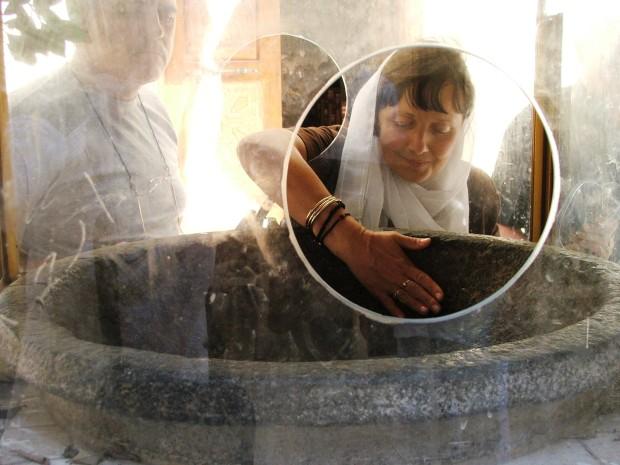 Samanoud, vasul de granit al Sf Fecioare Maria