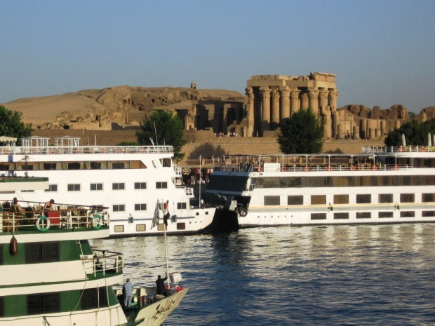 Croaziera pe Nil, templul Kom Ombo
