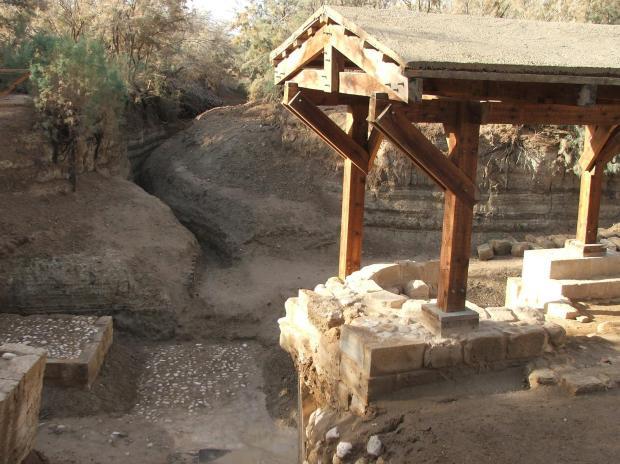 Betania dincolo de Iordan, locul Botezului Domnului (Iordania)