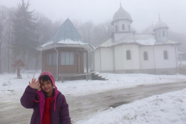 Alexandra, Manastirea Marcus, 28 dec 2012
