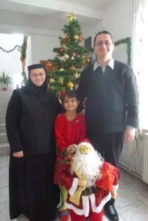 Maica Stareta Serafima, Alexandra si Pr Cristian