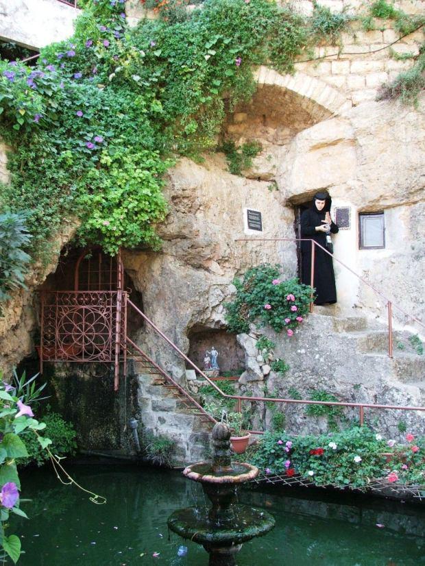 16 Even Sapir, Man Sf Ioan - pestera, bazinul cu pesti