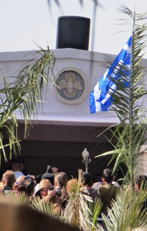 11. ora 12,54 Incepe procesiunea pe malul israelian