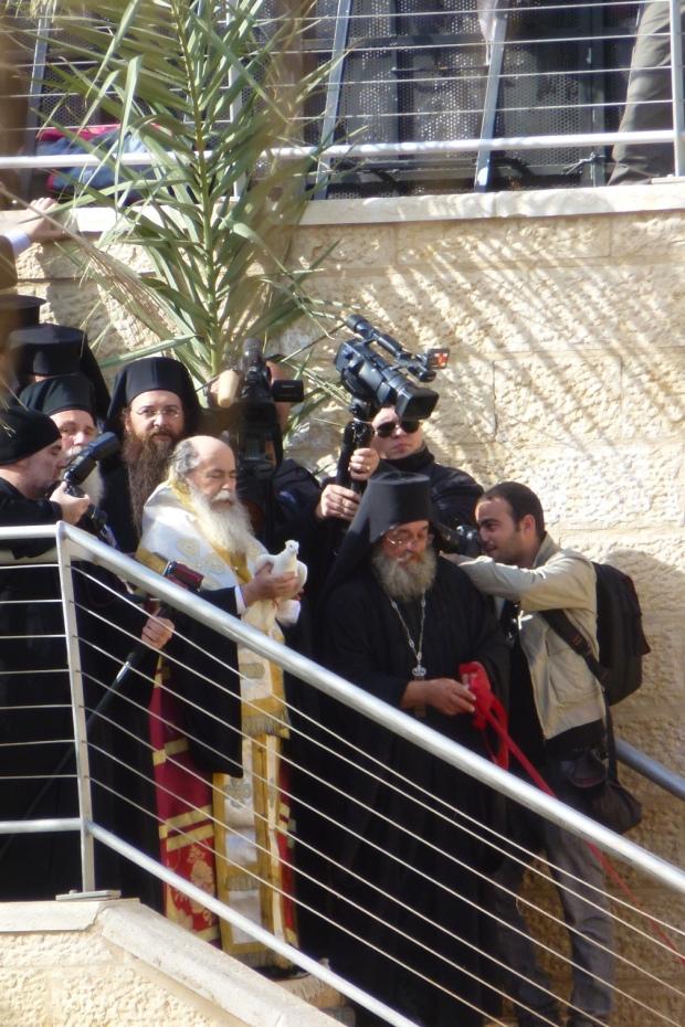 14. Patriarhul Teofilos al II.lea al Ierusalimului, Boboteaza 2013