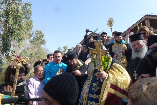 15, ora 12,05, coboara Ep Vinidictos al Iordaniei