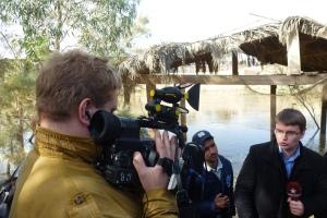 26, ora 12,34, reporter rus de la TV Zvezda