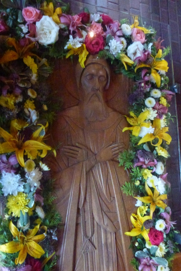 3 Sf Serafim de Virita, mormantul