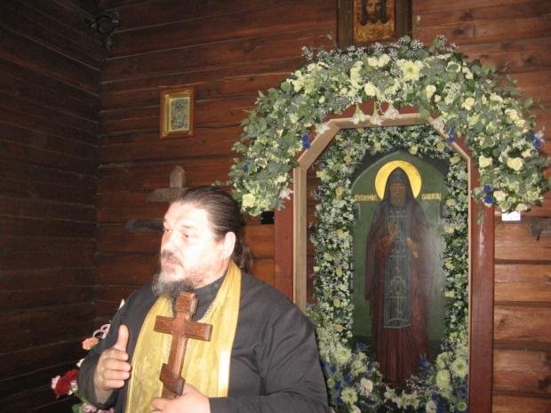 4 Sf Serafim de Virita, mormantul.