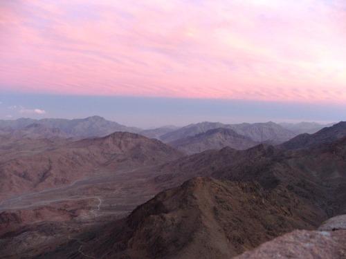 Mt Sinai, apus de soare 1