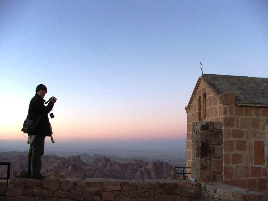 Mt Sinai, apus de soare 2