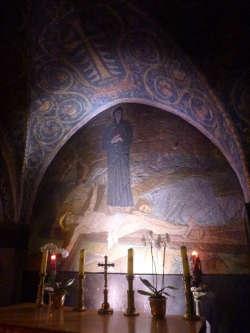 2. Golgota, altarul catolic. 11 oct 2013