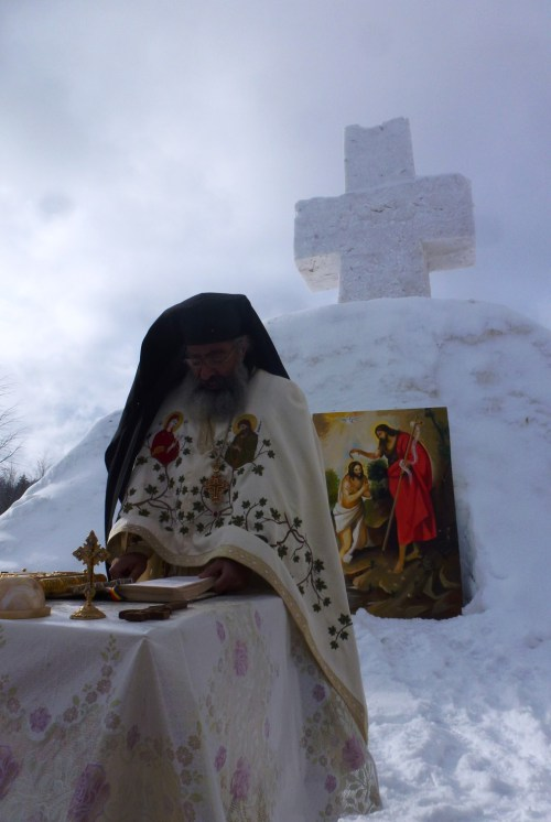 Boboteaza 2013, Schitul Sf Ilie Berzunti