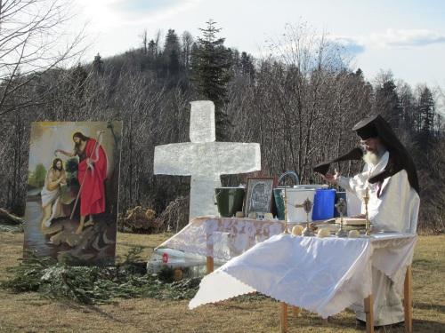 Boboteaza 2014, Schitul Sf Ilie Berzunti ( Protos Isaia) - 1