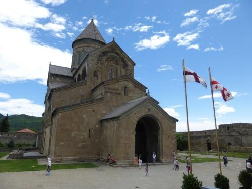 4 catedrala Svetiskhoveli (Stalpul de Viata Facator)