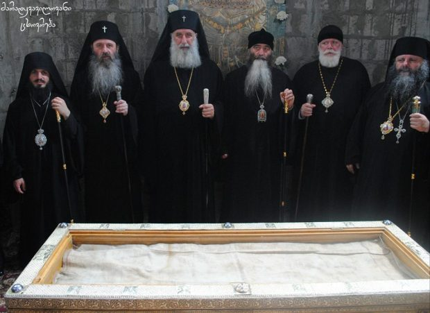 georgia, Sarbatoarea punerii in racla a Vesmantului Maicii Domnului, 15 aug ( stil vechi)