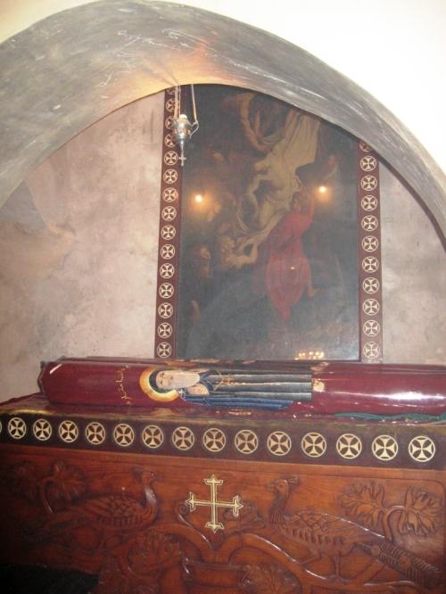 Man Sf Macarie, moastele celor 3 sfinti Macarie