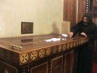 Man Sf Macarie, Mormantul Sf Ioan Botezatorul