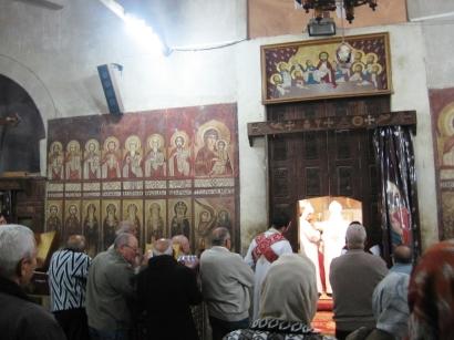 Man Sf Paisie, slujba copt.ortodoxa 2