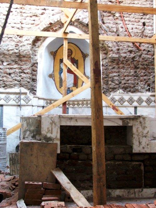 Sakha, altar cu 3 straturi de caramida ( sec 1, sec 10 si sec 19)