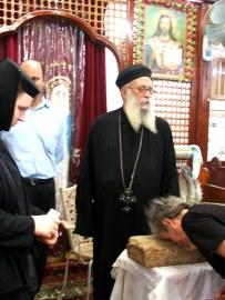 Sakhha, piatra cu urma talpii Copilului Iisus