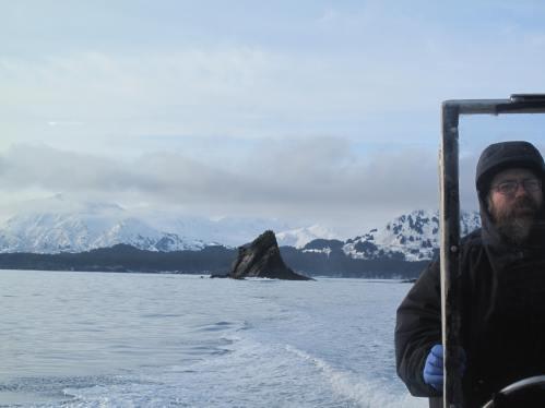 Pelerinaj Alaska, feb 2009 250 Monk's Rock si P Adrian