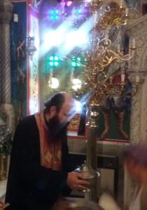 Farfuria Sf Ioan Rusul, Procopie, Evia, Grecia