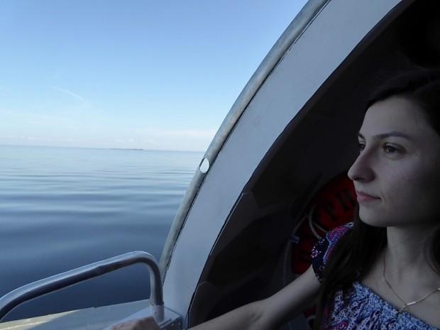1 Pe Lacul Ladoga, catre Manastirea Valaam