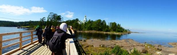 19 Lacul Ladoga, Man Valaam