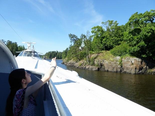 23 Plecam de pe Insula Valaam...