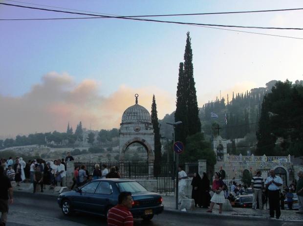 3 Ierusalim 2010, 25 aug ora 6 dimineata, dupa procesiunea Adormirii Maicii Domnului