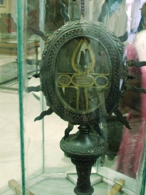 6, Chennai, Catedrala Sf Ap Toma, varful de lance cu care a fost ucis